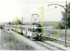 Baryt Straßenbahn Foto - WLB ex Köln, nach Wien, bei Neu-Guntramsdorf, 9.8.1983