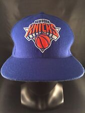 Mitchell & Ness NBA New York Knicks 100 % Wool Snapback Cap Blue Adult EUC