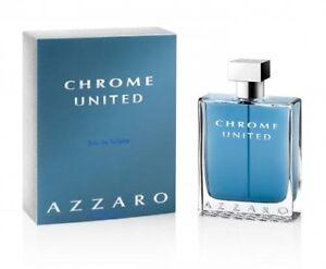 AZZARO CHROME UNITED 200ML EDT SPRAY FOR MEN BY AZZARO