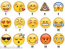 Cups Mug Emoticons Emoji 15 Variations Ceramic H.9,5CM Made IN Italy Faces