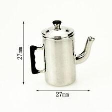 1:12 Dollhouse Meuble de cuisine Vintage Room lait bouilloire à thé Accueil Mini