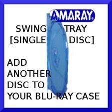 AMARAY blu-ray case SWING TRAY (holds 1 disc) - NEW