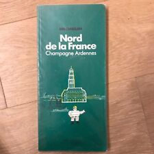 Carte MICHELIN Edition 4 - Nord France - Champagne Ardennes - 1977 - French Map
