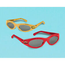 CARS 3 NOVELTY SUNGLASSES (6) ~ Birthday Party Supplies Plastic Eyewear Movie