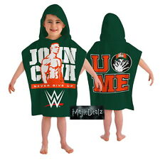 Official Licensed Product WWE Hooded Poncho John Cena Soft Shower Bath Gift New
