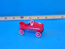Pedal Style Car Vehicle Toys Wheels Car Dollhouse Miniature Fairy Garden Yard