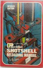 1971 Vintage Pacific Shotshell Reloading Manual Revised Edition Nebraska Bin 8