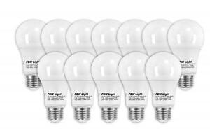 New 75 Watt Equivalent SlimStyle A19 LED Light Bulb 2700K 12 Pack 7512