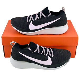 Nike Zoom Fly Flyknit Black Pink Women's Sneakers Running Shoes AR4562 001