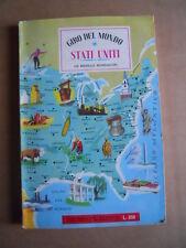 Album Giro Del Mondo Mondadori  CON FIGURINE - STATI UNITI AMERICA 1962 [G.244]