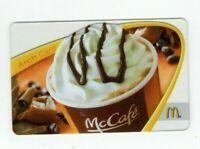 McDonalds Gift Card - McCafe - 2009 - No Value