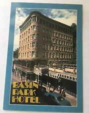 Vintage BASIN PARK HOTEL DOWNTOWN EUREKA SPRINGS Arkansas