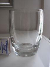 Villeroy & Boch: kleine Glas Vase - schlichte, klassische Form