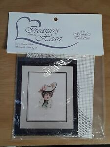 Vintage Treasures from Heart Hourglass Collection Corinne Cross Stitch Chart