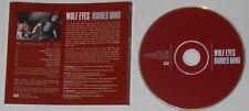Wolf Eyes - Burned Mind - original 2004 Sub Pop U.S. promo cd