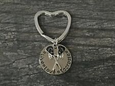 Lacrosse Keychain- Lacrosse Stick Keychain- Lacrosse Jewelry