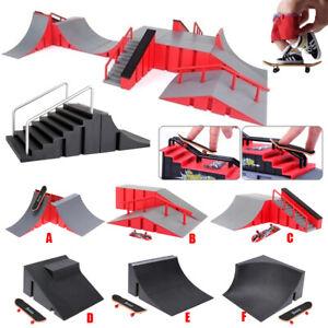 Griffbrett Skate Park Skateboard Mini Platte Finger Rampen Spielzeug Ultimative