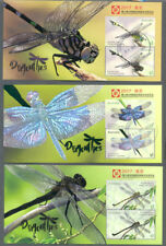 Australia-Dragonflies China 2017 4 min sheets fine used cto -Days 1-4-Insects