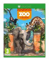 XBOX ONE ZOO TYCOON GAME NEW SEALED MICROSOFT