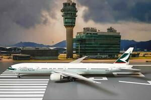 Phoenix 1/400 Diecast Aircraft Model CATHAY PACIFIC AIRWAYS B777-300ER,04376