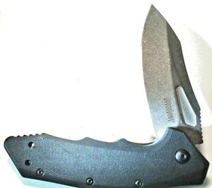 Kershaw 3930 Flinch 8cr13mov Stonewash Blade Kershaw 3930 Hunting