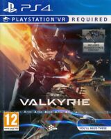 Eve Valkyrie PS4 Playstation VR - New and Sealed