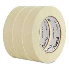 Universal General Purpose Masking Tape, 1 x 60 yards, 3 Core, 3/Pack- UNV51301
