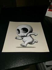 "SKULLY III 8"" x 8"" Art Print by Mike Mitchell, Signed and Numbered."