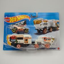 Hot Wheels Super Rigs Red Planet Transport New Mars Transport FREE SHIPPING