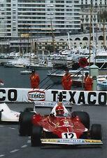 Niki Lauda Hand Signed Scuderia Ferrari F1 12x8 Photo.