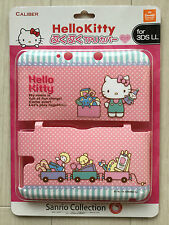SANRIO Hello Kitty Polka dot  Nintendo 3DS XL LL Case Pink Free Shipping Japan