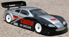 Standard 1/10 Clear RC car body Jaguar XKR body 190mm wide  #211
