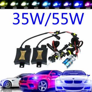 35W/55W HID Xenon Headlight Conversion KIT Bulbs H1 H3 H4 H7 H11 9004 9005 9006