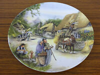 Royal Doulton Collector Plate: Old Country Crafts: The Thatcher by Susan Neale