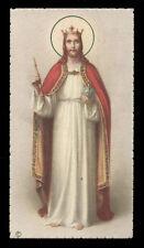 "santino-holy card""""ediz. NB*  n.6031 CRISTO RE"