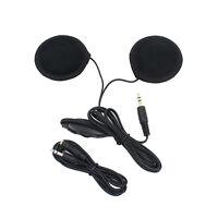 Motorcycle Helmet Interphone Intercom Mic/Headphone Speaker Headset for MP3 iPod