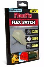 """FiberFix Flex Patch 3 Sizes- 2"""" x 8"""", 3"""" x 3"""", 5"""" x 5"""""""