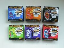 Yomega McDonalds Complete set of 6 Different YO YO Yoyo's Yoyo Boxed