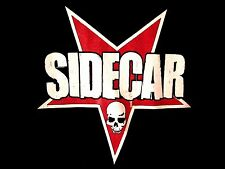 SIDECAR pop punk rock T shirt Cleveland small tee OHIO skull inverted star logo