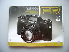 Yashica FR I Gebrauchsanweisung Kamera