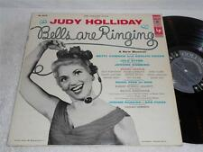 JUDY HOLLIDAY Bells Are Ringing '56 COLUMBIA 6 EYE ORIG BROADWAY JAZZ LP NICE