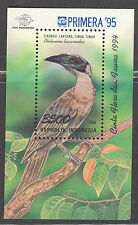 INDONESIA 1995 BL119 BIRDS VOGELS  MNH