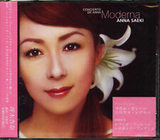 Anna Saeki - Concierto de ANNA MODERNA - Japan CD - NEW