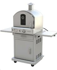 PACIFIC LIVING STAINLESS STEEL PIZZA OVEN WITH BASE. WE WILL BEAT ANY PRICE,