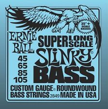 4 Pack!  Ernie Ball 2849 Hybrid Slinky Bass Strings Super Long Scale 45-105