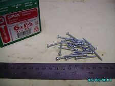 "1000 #6 x 1 1/2"" - 3.5 x 40mm SPAX Phillips Pan Head Zinc Plated Screws"