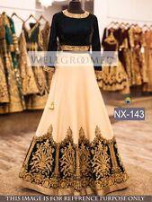 Bollywood Indian Lehenga Designer Party Wear Lengha Wedding White Lehenga Choli