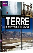 41054//TERRE PLANETE SOUS INFLUENCE COFFRET 2 BLU RAY NEUF SOUS BLISTER