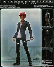 ACTION FIGURES - Final Fantasy VII Advent Children Play Arts 2 - No.6 Reno NUOVO