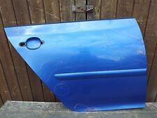 VW GOLF V MK5 5 DOOR 2004-2009 REAR DOOR PANEL RIGHT DRIVER SIDE O/S BLUE